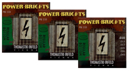 Thomastik Power Bright Electric Guitar Strings .010-.045 Three-Pack