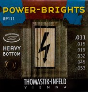 Thomastik Power-Brights Electric Guitar Strings Heavy Bottom 11-53