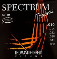 Thomastik Spectrum Bronze Acoustic Guitar Strings .010-.050