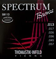 Thomastik Spectrum Bronze Acoustic Guitar Strings .013-.057