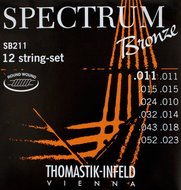 Thomastik Spectrum Bronze <BR>Acoustic Guitar 12 Strings<BR>.011-.052