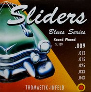 Thomastik Blues Sliders Electric Guitar Strings .009-.043