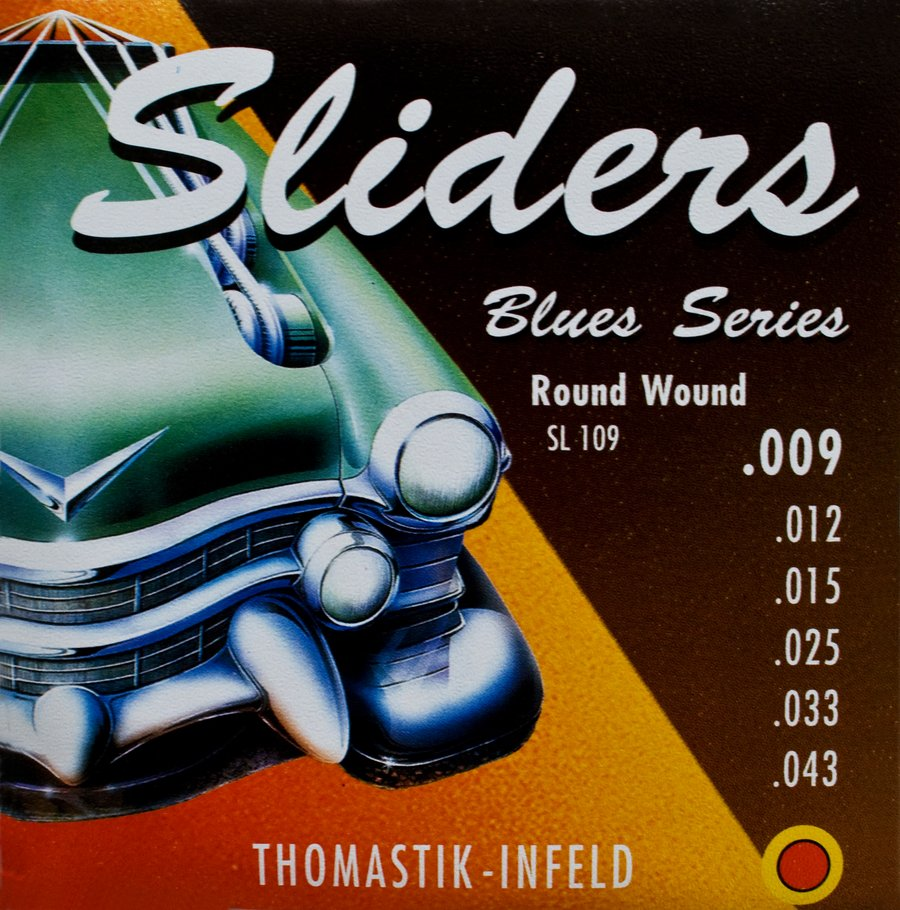 thomastik electric guitar strings blues sliders 009 043 rainbow guitars. Black Bedroom Furniture Sets. Home Design Ideas
