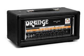 Orange Dual Dark 50/25 Watt Guitar Amplifier In Black