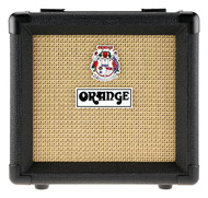 Orange 1x8 Speaker Cab Black