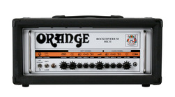 Orange Rockerverb 50 MKII Head Black B Stock