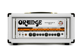 Orange Rockerverb 50 MK II Amp Head In Limited Edition White