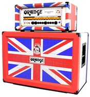 Orange Limited Edition Union Jack Rockerverb 50 MkII Head 2x12 Cab