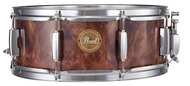 Pearl 14x5.5 Birch Ply Snare Drum In Walnut Burl