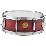 Pearl 14x5.5 Birch Ply Snare In Burnt Ember