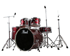 Pearl Export 5pc Shell Pack in Red Wine
