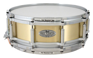 "Pearl Free Floating Task Specific 14""x5"" Brass Snare Drum"