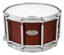 Pearl Free Floating 8x14 Snare Drum In Red Mahogany