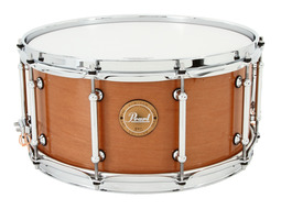 Pearl 6.5 X 14 Natural Finish 100% Kapur Snare Drum