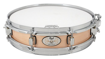 Pearl 3x13 Maple Piccolo Snare in Natural Finish