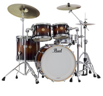 Pearl Limited Mahogany 4pc Shell Pack In Brooklyn Burst