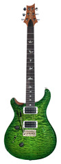 PRS Custom 24 Lefty 10 Top Quilt Eriza Verde