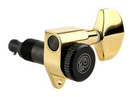 Planet Waves Auto-Trim Tuning Keys 3-on-a-side Gold