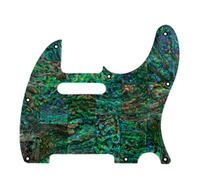 Q-Parts Tele Pickguard Abalone