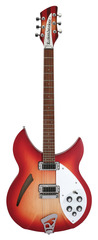 Rickenbacker 330 Fireglo Electric Guitar With Case