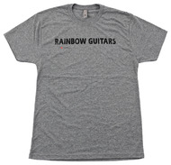Rainbow Guitars Small Next Level 6010 Premium Heather Tee Shirt
