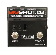 Radial Big Shot I/O True Bypass Instrument Selector