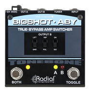 Radial Bigshot ABY True Bypass Amp Switcher 