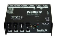 Rolls MX124 ProMix IV<BR>Portable Battery-Powered Mixer