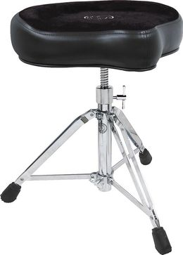 Roc-N-Soc Manual Spindle Drum Throne, Original Seat, Black