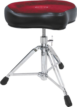 Roc-N-Soc Manual Spindle Drum Throne, Original Seat, Red