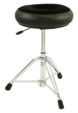 Roc-N-Soc Nitro Drum Throne , Round Seat, Black