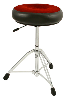 Roc-N-Soc Nitro Drum Throne, Round Seat, Red