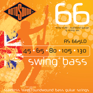 Rotosound RS 665LD Swing Bass<BR>Roundwound Long Scale <BR>Electric Bass 5 Strings .045-.130