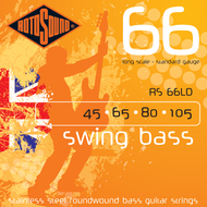 Rotosound RS 66LD Swing Bass<BR>Roundwound Long Scale <BR>Electric Bass Strings .045-.105