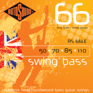 Rotosound RS 66LE Swing Bass<BR>Roundwound Long Scale<BR>Electric Bass Strings .050-.110