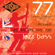 Rotosound RS 775LD Jazz Bass<BR>Monel Flatwound Long Scale<BR>Electric Bass 5 Strings .045-.130