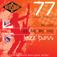 Rotosound RS 77LD Jazz Bass<BR>Monel Flatwound Long Scale <BR>Electric Bass Strings .045-.105