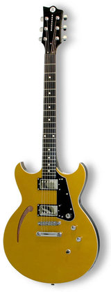 Reverend Manta Ray HB Metallic Gold