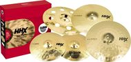 Sabian HHX 5pc Evolution Performance Cymbal Pack Brilliant Finish