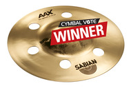 "Sabian 8"" AAX air Splash In Brilliant Finish"