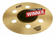 "Sabian 10"" AAX Air Splash In Natural Finish"