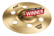 "Sabian 10"" AAX Air Splash Cymbal In Brilliant Finish"