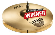 "Sabian 14"" AAXplosion hi Hat Pair In Brilliant Finish"