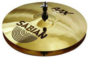 "Sabian 14"" AAX Stage Hat, Brilliant Finish"