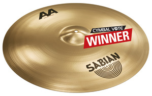 "Sabian 21"" AA Bash Ride In Brilliant Finish"