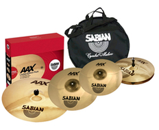 "Sabian AAXplosion Performance Set With 18"" Crash"