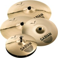 "Sabian Vault Performance Cymbal Pack Box Set With 20"" Crash"