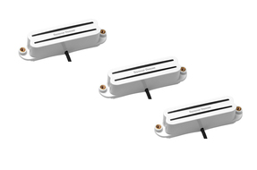Seymour Duncan Hot Rails for Strat Set White