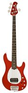 Sterling by Music Man SB14 Bass Candy Apple Red