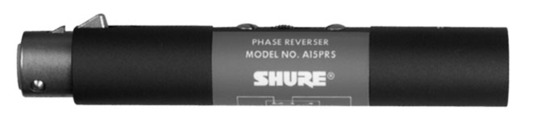 Shure A15PRS Switchable Phase Reverser